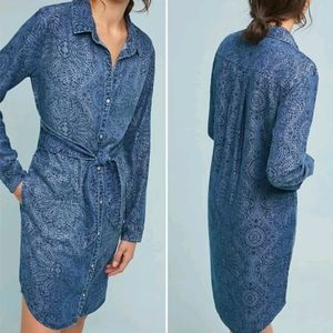 Cloth and Stone (Anthropologie) Chambray Dress